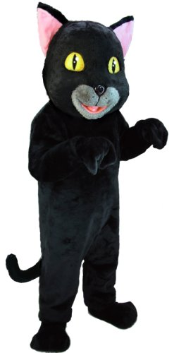 Black Cat Lightweight Mascot Costume