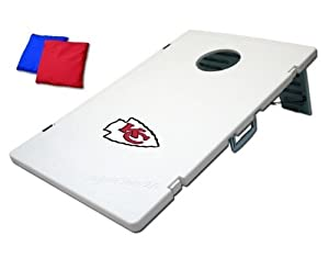 Kansas City Chiefs Plastic Cornhole Bean Bag Toss Yard Game by Unknown
