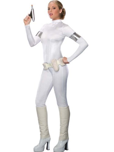 Sexy Amidala Costume Star Wars Theatre Costumes 1 PC Jumpsuit SciFi Fantasy