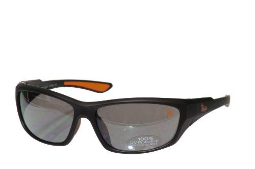 Buck Commander Bc-Sgff Full Frame Sunglasses With Orange Accents, Matte Black front-1000873