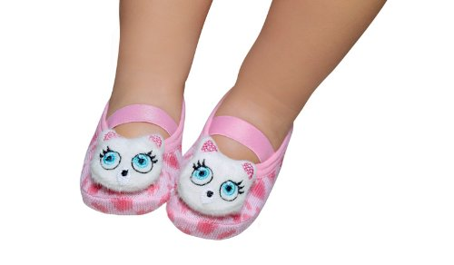 Cheap Puket Newborn Girl's Baby Booties, Cat (Newborn – Cat)