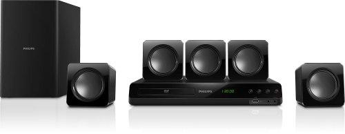 Philips HTD3510/12 Home Theater 5.1 con DVD, Nero