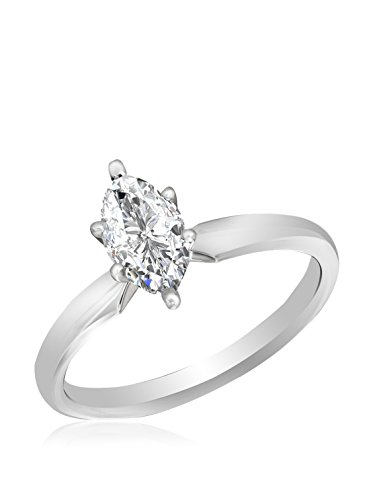 1/2-Ct. Marquise Cut Solitaire Ring