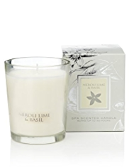 Neroli Lime & Basil Spa Scented Candle