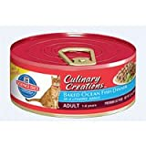 Hill's Science Diet Culinary Creations Adult Baked Ocean Fish Dinner in a Creamy Sauce Cat Food - 5.5-Ounce Can (Pack of 24)