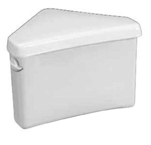 American Standard 4338.016.020 Titan Pro Triangle Toilet Tank, White (Tank Only)