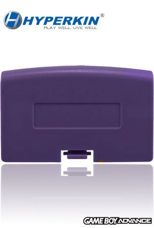 Hyperkin Game Boy Advance Battery Cover - Purple (Free Handhelditems Sketch Universal Stylus Pen)