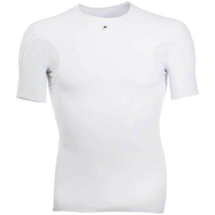 Buy Low Price Assos Short Sleeve Base Layer Top LG White (13.40.401.50 Lg)