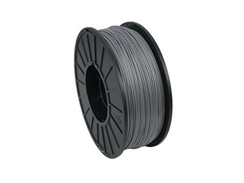 MatterHackers Silver PRO Series ABS Filament - 1.75mm for MakerBot, RepRap, Ect