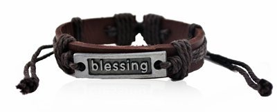 "AMERICAN CLUB ""Blessing\"" Dark Brown Bracelet (multicolor)"