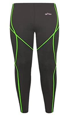 emFraa Men Women Skin Tights Compression Leggings Running Base layer Pants S ~ 2XL