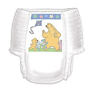 Curity Runarounds Girl Training Pants X-Large Over 38 Lbs. [Pack Of 19] front-701246