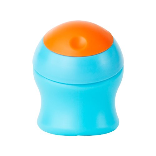 Boon Munch Snack Container (Orange/ Blue)