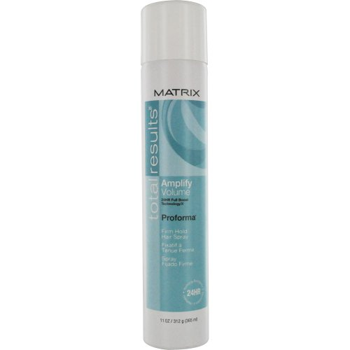 Total Results by Total Results Amplify Proforma Firm Hold Hair Spray for Unisex 11 Ounce