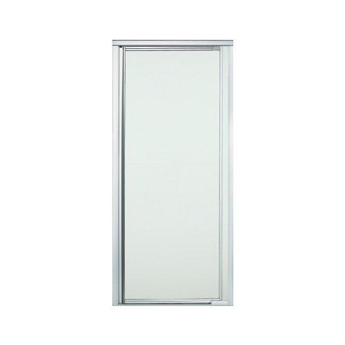 "Sterling Plumbing 1505D-31S-G03 Vista Pivot II Shower Door Pivot 65-1/2""H x 27-1/2"" - 31-1/4""W Frosted Glass Silver"