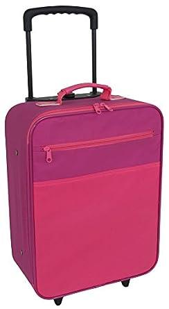 "Mercury Kids 16"" Upright Wheeled Luggage - Pink Multi"