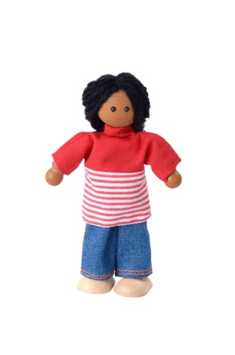 Plan Toys African American Mom  Doll - 1