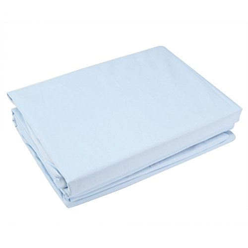 "4Pc Microfiber Bedding Sheet Set Light For Queen (90"" X 102"") Blue 13005929 front-370883"