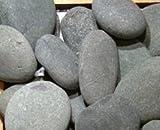 "Mexican Beach Pebble, Black, 2-3"""