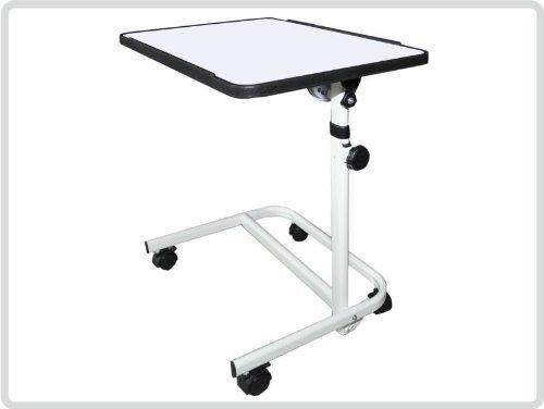 Beistelltisch-Beistellwagen-Krankentisch-Bett-Tisch-wei-fahrbar