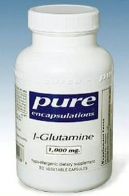 Pure Encapsulations L-Glutamine 1000 mg 90 Vcaps