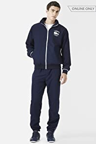 Track Suit with Logo Graphic
