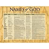 img - for Names of God Wall Chart book / textbook / text book