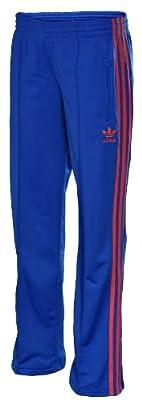 Adidas Originals Women's Firebird Track Pants-Bluebird/BlazePink