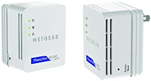 NETGEAR Powerline 500Mbps Nano Adapter - Starter Kit (XAVB5101)
