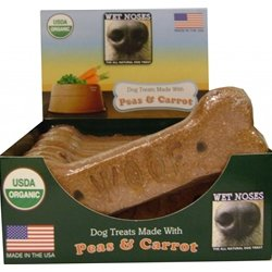 Wet Noses Peas and Carrots Big Bone Dog Treats Box of 12 (Wet Nose Dog Bones compare prices)