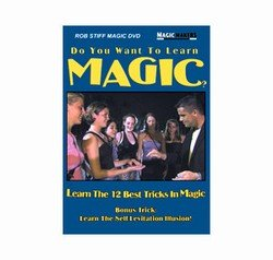 Do You Want to Learn Magic? With Rob Stiff - DVD