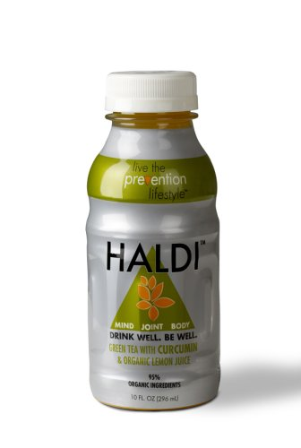 Haldi Green Tea With Curcumin & Organic Lemon Juice (Digestive Drink - Uc, Ibs, Acid Reflux) Sold 24 Units Per Case