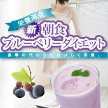 栄養満点 新朝食 ブルーベリーダイエット×5個セット+1個おまけつき