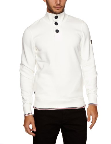 Henri Lloyd Port Half Button Sweat Men's Jumper Surf Small