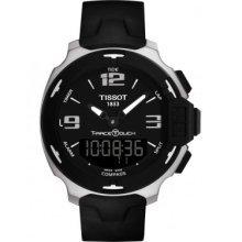 Tissot T-Race Analog Digital Black Rubber Mens Watch T0814201705701