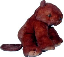 "Purr-Fection Tender Friend Beaver 12"" Plush"