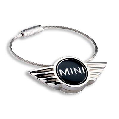 MINI Cooper Logo Cable Key Chain