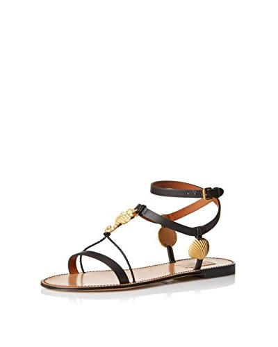 Valentino Women's Flat Ankle Strap Sandal