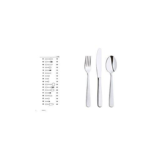 ABERT Set di 12 Cucchiaini inox moka Rimini Utensili e posate da cucina
