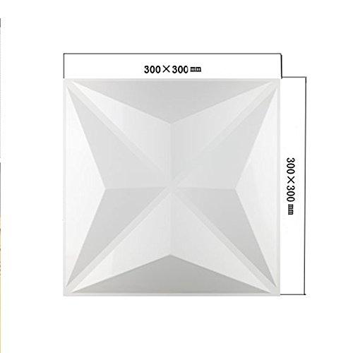 yazi-Lot-de-4-3D-Planche-Revtement-mural-Panneau-intrieur-Planche-16-couleur-carr-Fond-Chambre-Dcoration-Maison-300-x-300-mm
