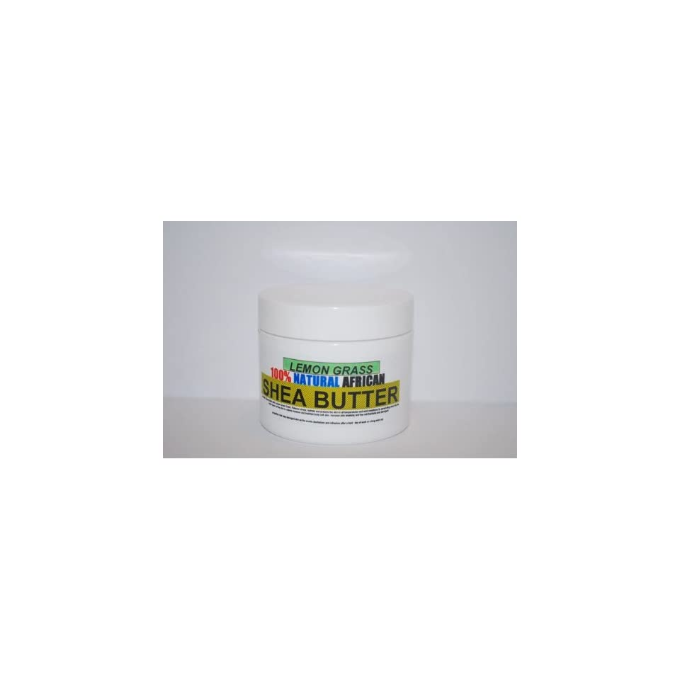 TAHA African Shea Butter with Lemongrass & TEA TREE 2oz