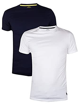 Polo Ralph Lauren - Multicolore 2 Pack T-Shirts - Homme - Taille: XL