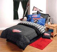 Amazon Com Nhl Detroit Redwings 4pc Bed Sheets Set