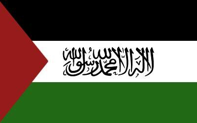 "3x5 Feet Flag of Palestine with Arabic ""Shahadah"" Script Writing: Palestinian Poly 3' x 5'Flag"