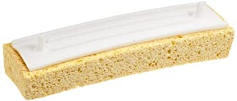 "Carlisle 36990R00 Cellulose Ty-Dee Sponge Refill, 2.5"" x 8.5"" (Case of 12)"