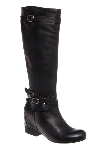 Femme Tall Hidden Low Wedge Boot