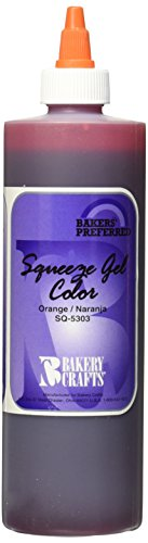 Bakery Crafts Squeeze Gel Food Color, 13.5 oz., Orange (Bakery Food compare prices)