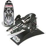 Darth Vader's Black Jedi Starfighter - Star Wars Die-Cast Vehicle Titanium Series