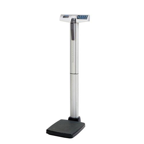 Health O Meter 500Kl Digital Beam Scale W/ Height Rod, 500 Lb Capacity, 0.2 Lb Resolution