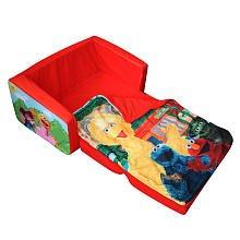 Elmo Flip-open Slumber Sofa by Sesame Street